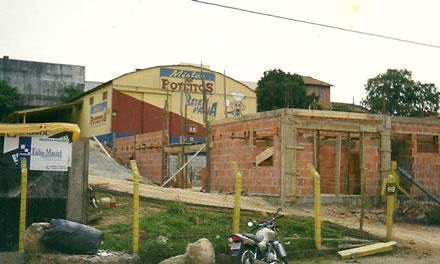 Antigas instalações da Mister Poteitos.